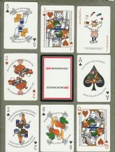 Collectible playing cards. Washington State Dairy Council